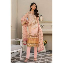 Pakistani Suits Maryam's Summer Collection Vol-17 M-64 Ocher Blush