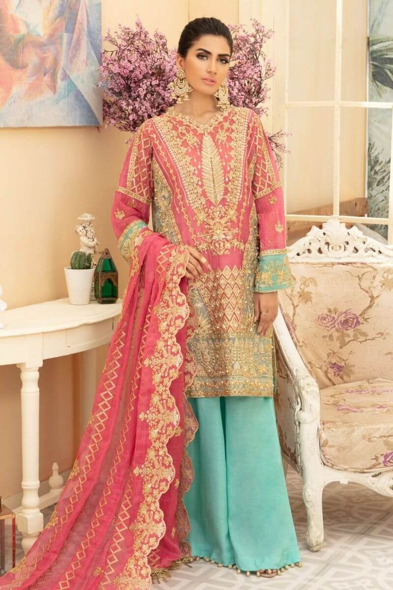 Maryum N Maria Premium Chiffon Collection 2020 Dream Dale MMD-02