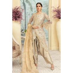 Maryum N Maria Premium Chiffon Collection 2020 Blatis Grij MMD-04