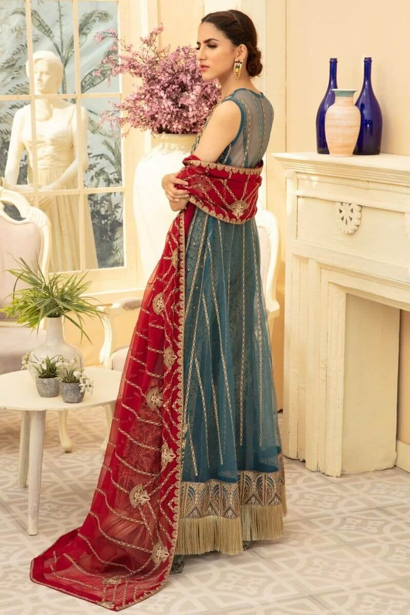 Maryum N Maria Premium Chiffon Collection 2020 Magnitez MMD-06