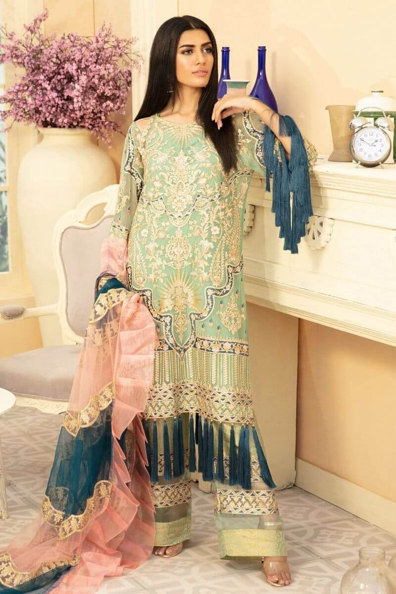 Maryum N Maria Premium Chiffon Collection 2020 Henille Jusx MMD-07