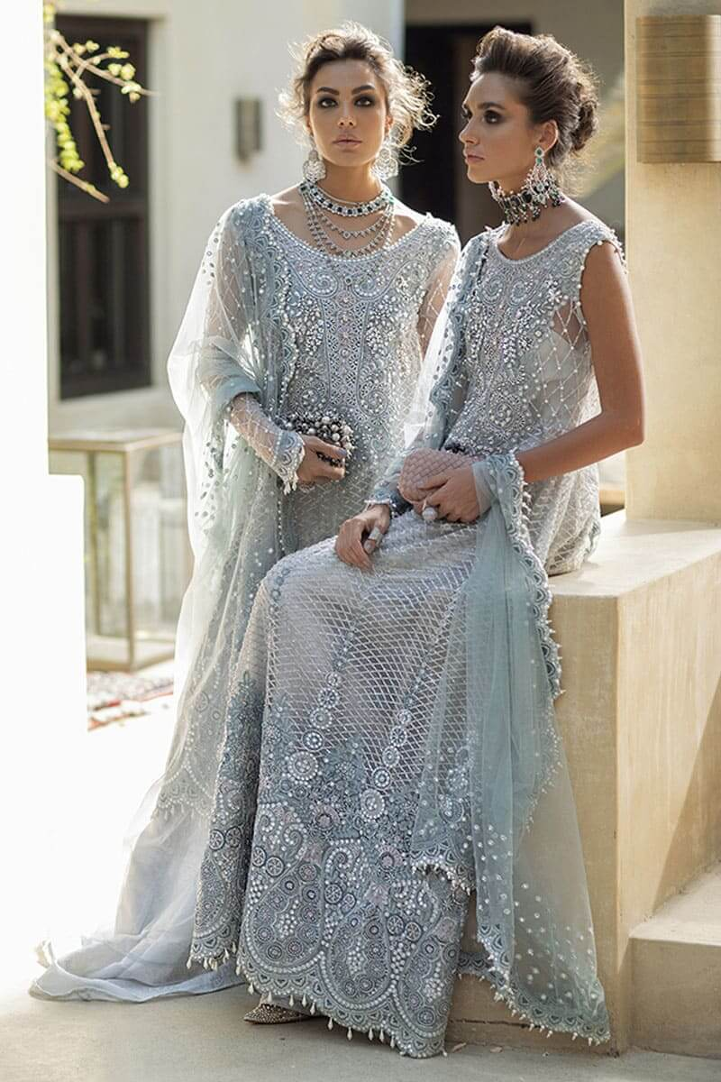 Trousseau De Luxe Wedding Suits 2020 by Mushq Pakistani Suits MTL20-1