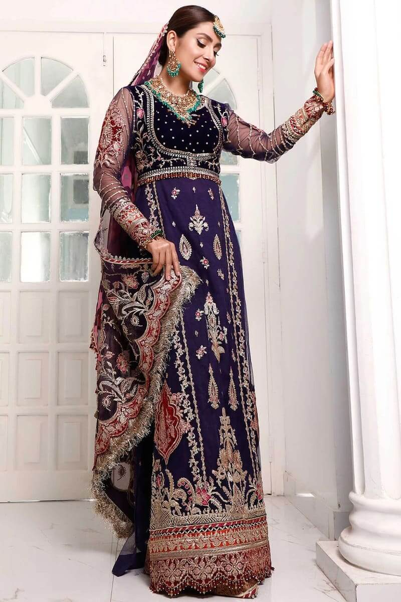 Noor By Saadia Asad Festive Collection 20 Salwar Suits D-8