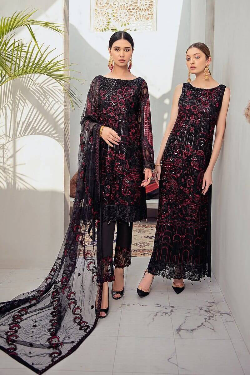 Rangoon Vol 6 by Ramsha Designer Salwar Kameez D-601