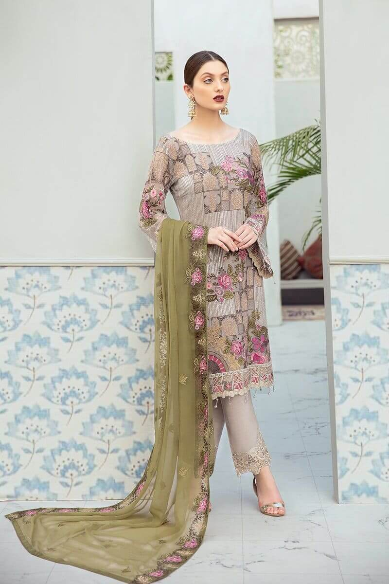 Rangoon Vol 6 by Ramsha Designer Salwar Kameez D-602