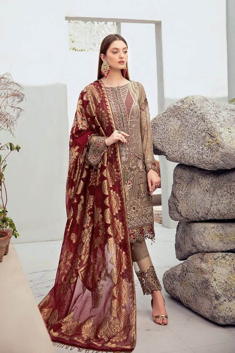 Rangoon Vol 6 by Ramsha Designer Salwar Kameez D-603