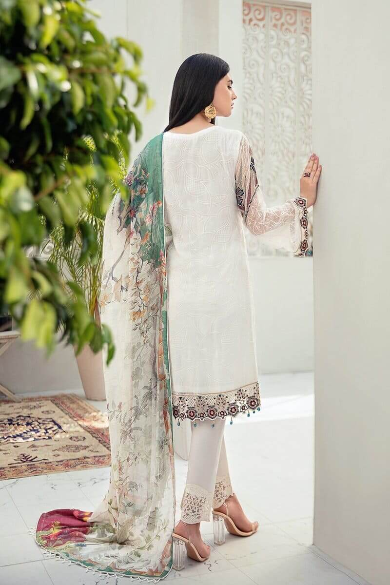 Rangoon Vol 6 by Ramsha Designer Salwar Kameez D-605