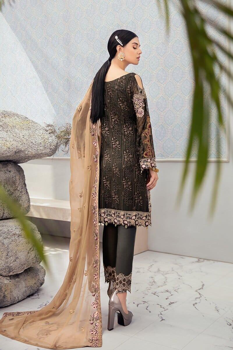 Rangoon Vol 6 by Ramsha Designer Salwar Kameez D-606