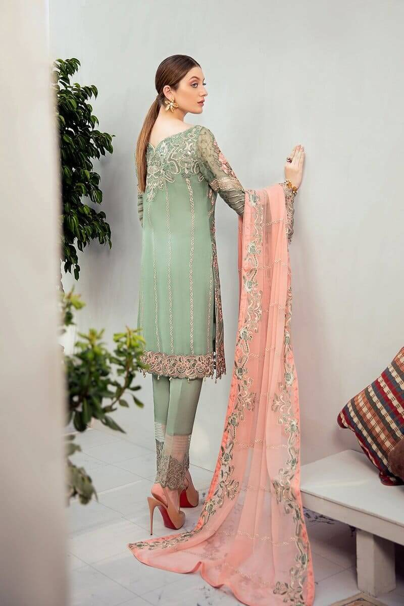 Rangoon Vol 6 by Ramsha Designer Salwar Kameez D-608