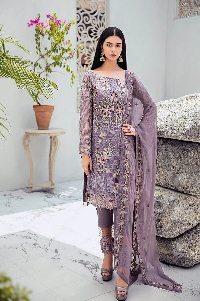 Rangoon Vol 6 by Ramsha Designer Salwar Kameez D-609