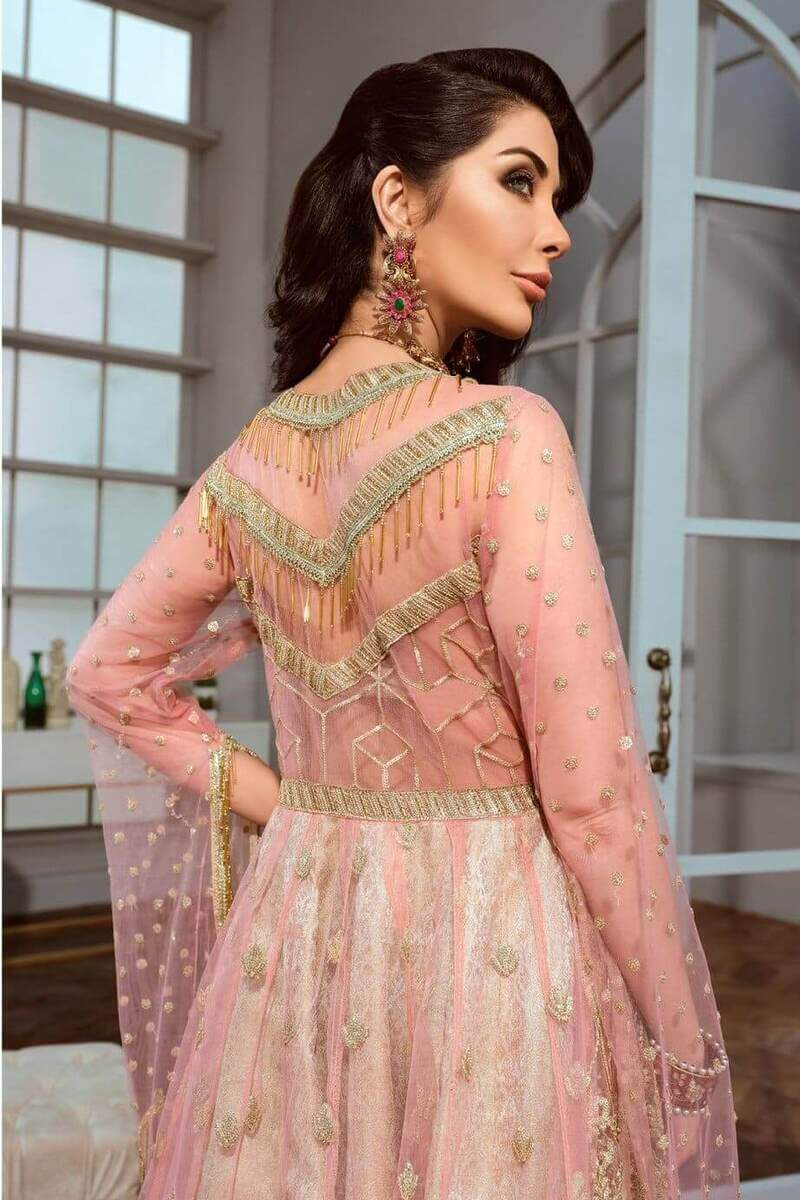 Shamrock Maryum N Maria Chiffon Collection Pink Carat SF-02