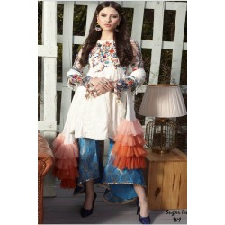 Zara Hayaat Winter Collection 2020 Designer Salwar Kameez Sugar Ice W1