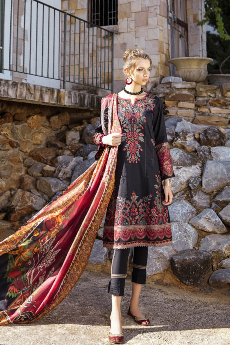 Pakistani Summer Collection Iznik Lawn Collection 2020 IL20-07 BEETROOT