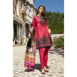 Pakistani Summer Collection Iznik Lawn Collection 2020 IL20-09 CHERRY