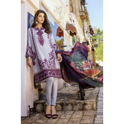Pakistani Summer Collection Iznik Lawn Collection 2020 IL20-10 BRINJAL