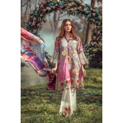 Floral Fantasies Premium Lawn Collection 2020 by Adan's Libas BARBIE