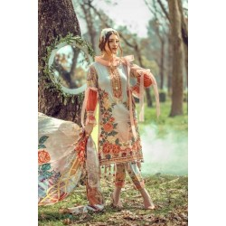 Floral Fantasies Premium Lawn Collection 2020 by Adan's Libas CINDERELLA