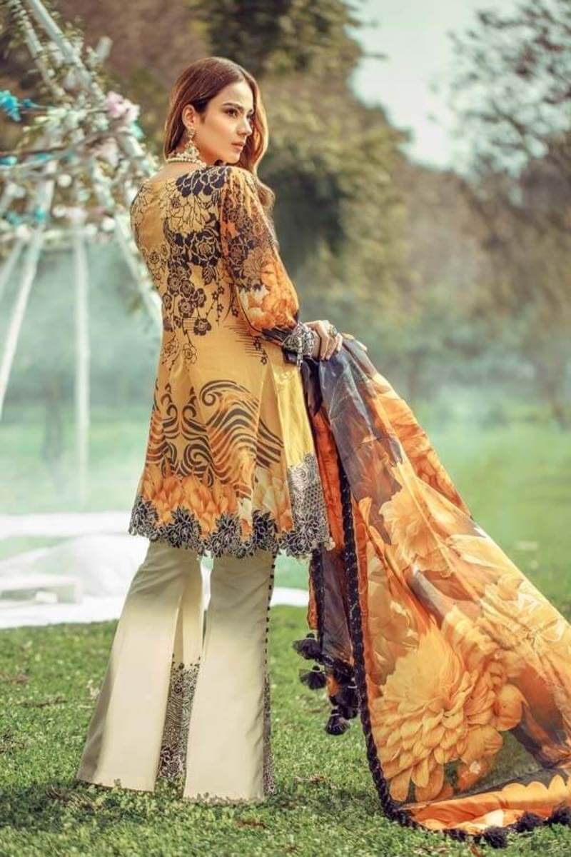 Floral Fantasies Premium Lawn Collection 2020 by Adan's Libas IRIDESSA