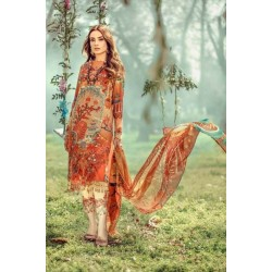 Floral Fantasies Premium Lawn Collection 2020 by Adan's Libas MULAN