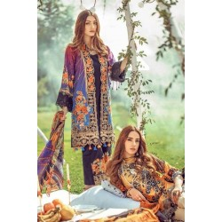 Floral Fantasies Premium Lawn Collection 2020 by Adan's Libas SINDBAD