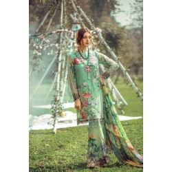 Floral Fantasies Premium Lawn Collection 2020 by Adan's Libas TIANA