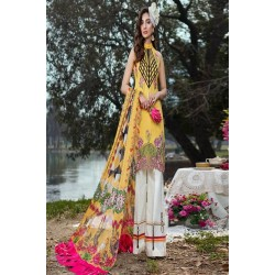 Asifa and Nabeel Luxury Lawn 2020 Salwar Kameez 22B Spring Blossom