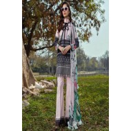 Asifa and Nabeel Luxury Lawn 2020 Salwar Kameez 8E PASTEL PERFECTION
