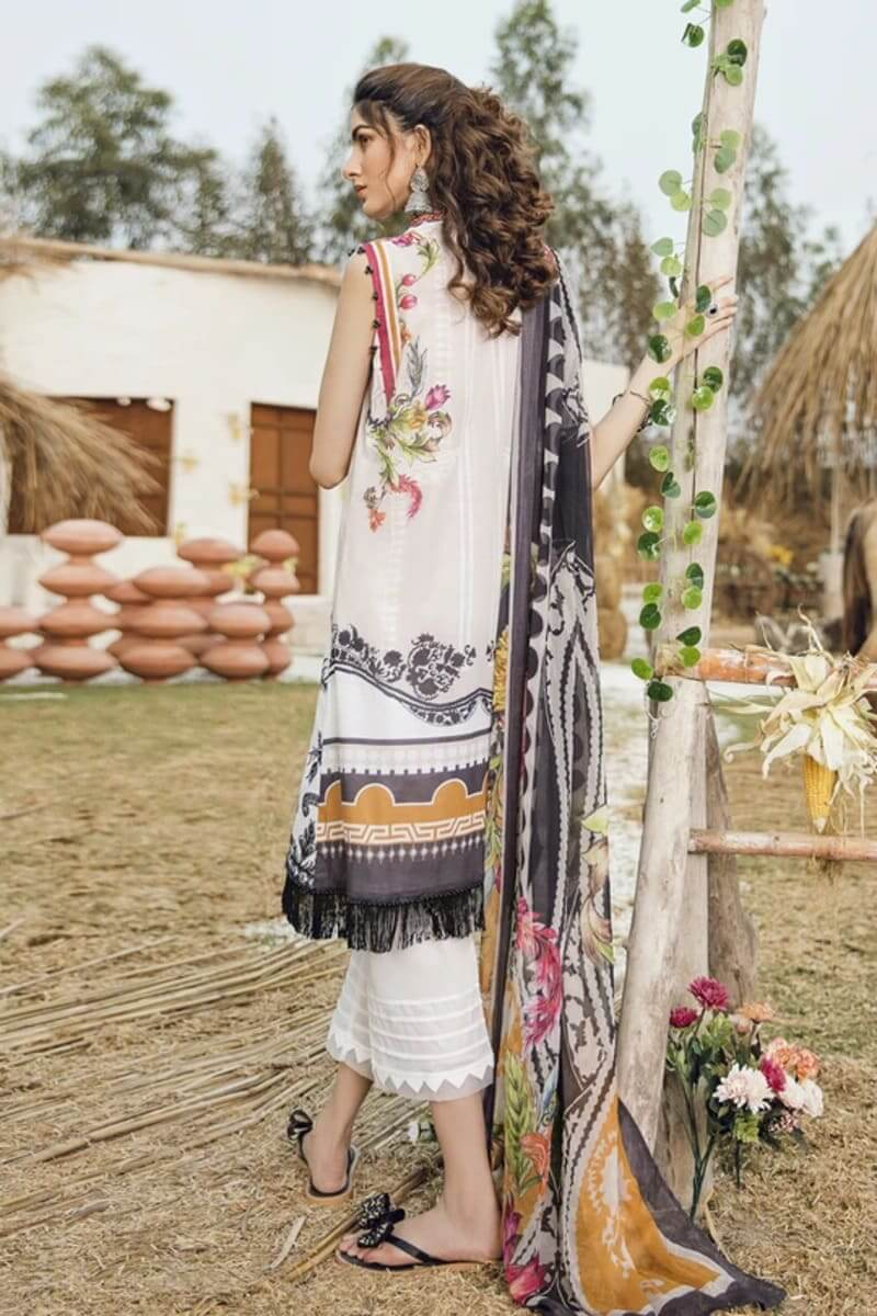 Iznik Guzel Lawn Collection Salwar Kameez GL20-10 Full Moon