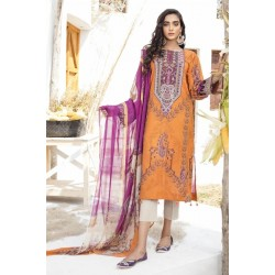Iznik Guzel Lawn Collection Salwar Kameez GL20-12 Tulip Farm