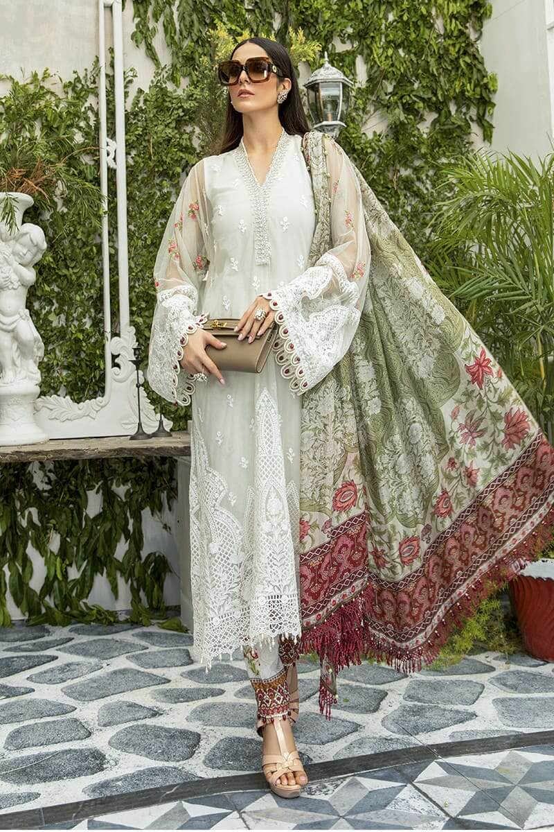 Maria.B Eid Collection 2020 Designer Pakistani Suits EL-20-02