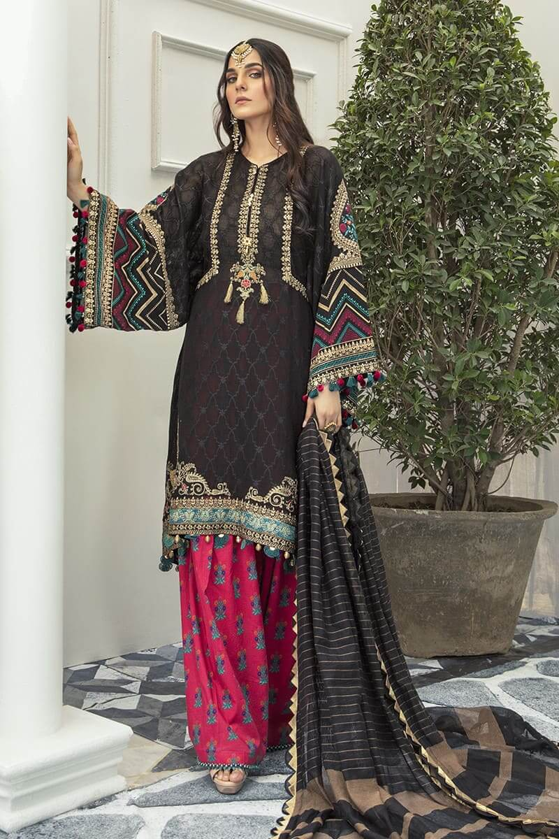 Maria.B Eid Collection 2020 Designer Pakistani Suits EL-20-09