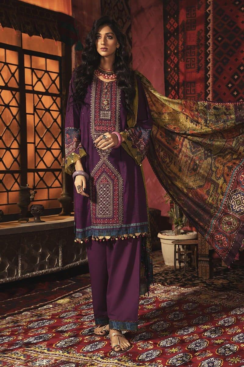 M.Prints Winter 2020 by MARIAB Designer Salwar Suits MPT-902B