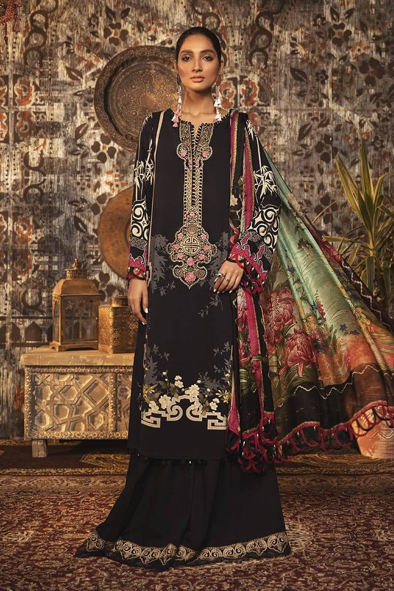 M.Prints Winter 2020 by MARIAB Designer Salwar Suits MPT-903B