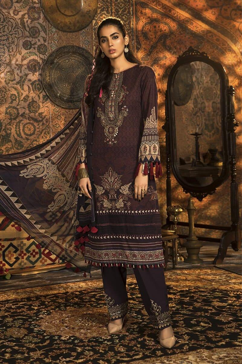 M.Prints Winter 2020 by MARIAB Designer Salwar Suits MPT-904B
