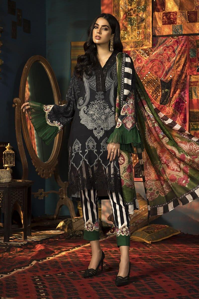 M.Prints Winter 2020 by MARIAB Designer Salwar Suits MPT-905B