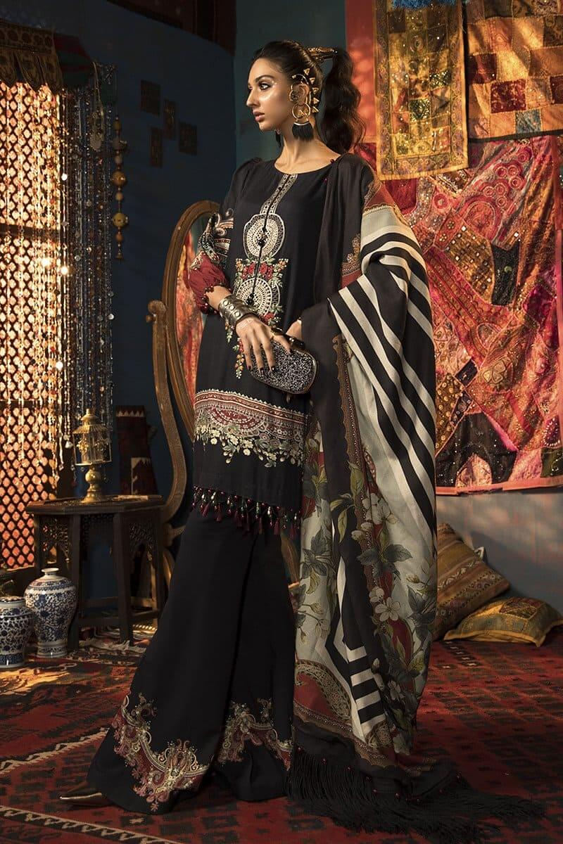 M.Prints Winter 2020 by MARIAB Designer Salwar Suits MPT-910B