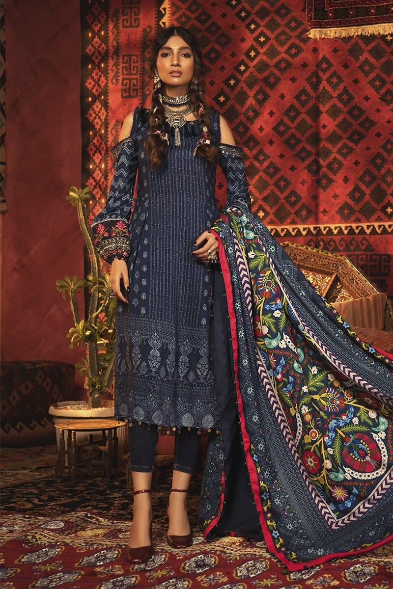 M.Prints Winter 2020 by MARIAB Designer Salwar Suits MPT-912B