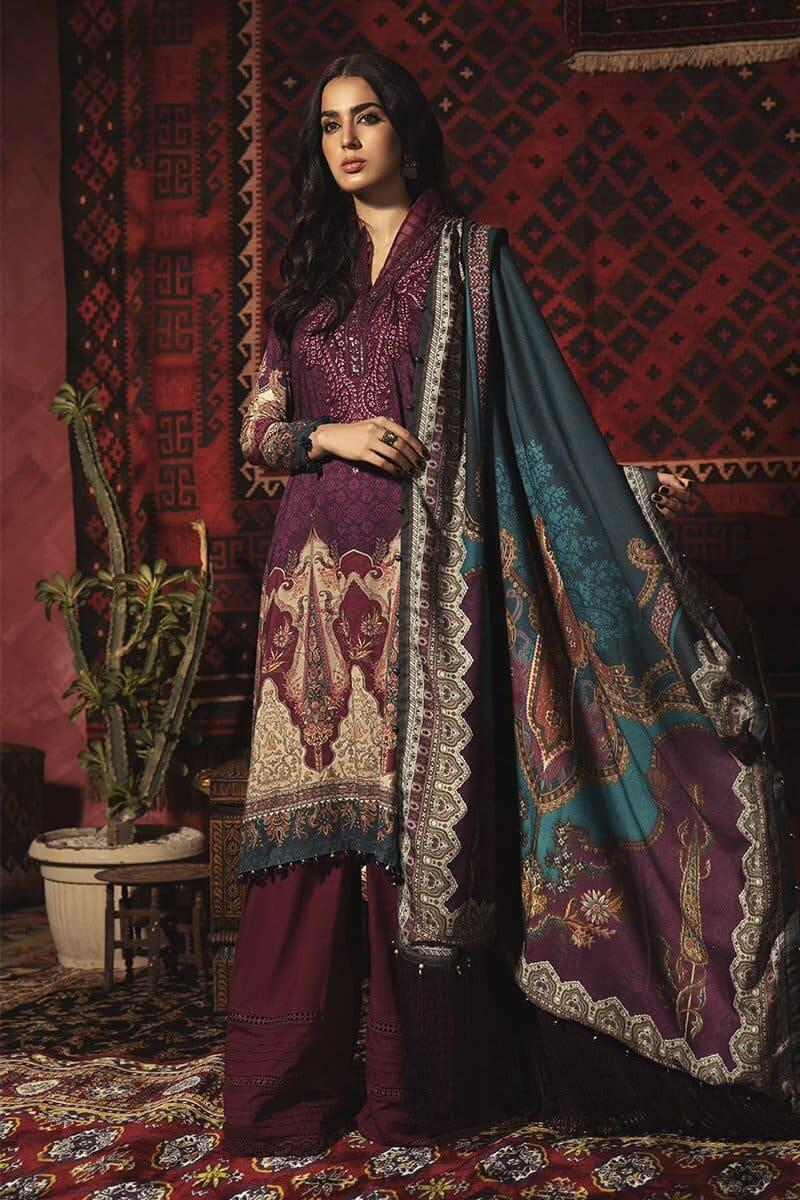 M.Prints Winter 2020 by MARIAB Designer Salwar Suits MPT-913B