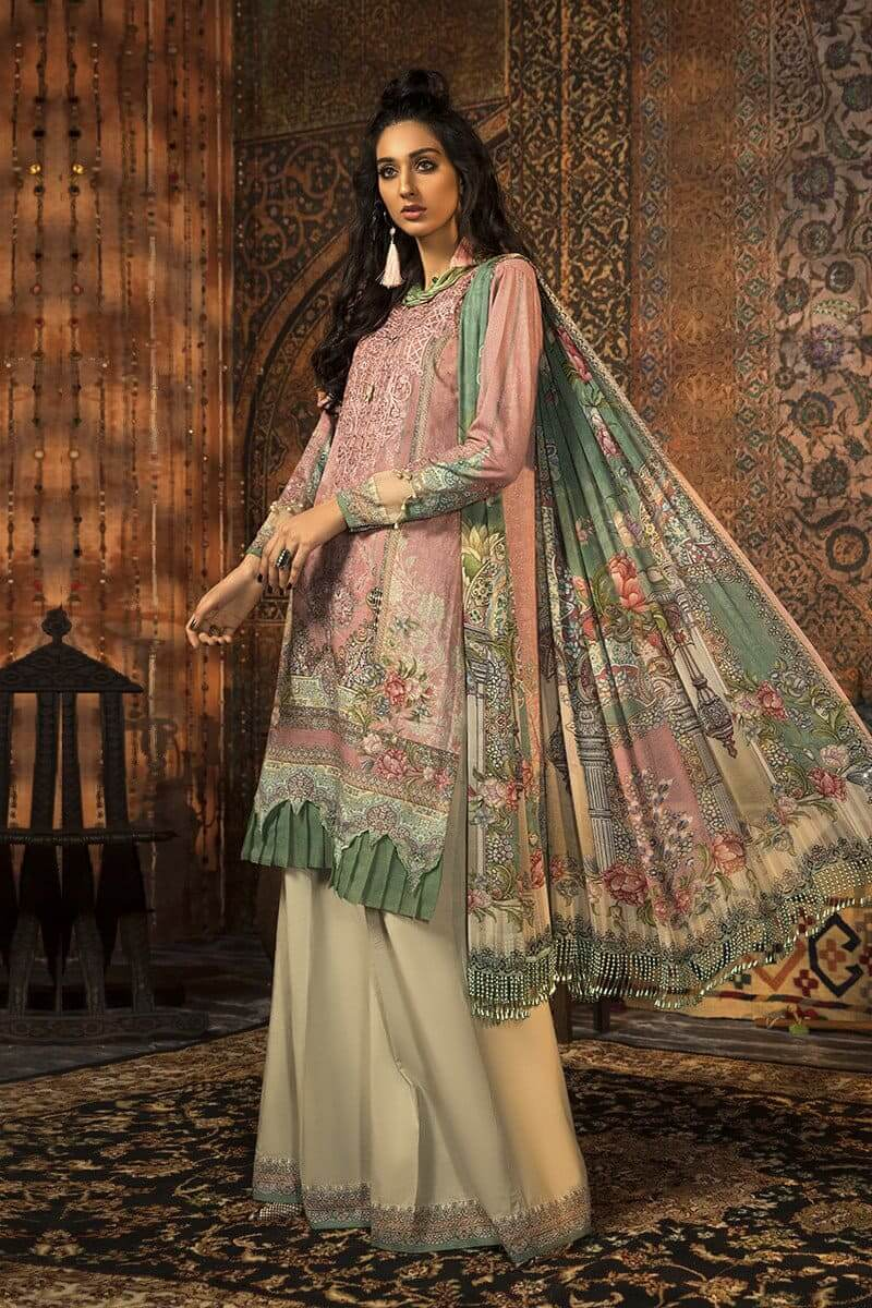 M.Prints Winter 2020 by MARIAB Designer Salwar Suits MPT-914B
