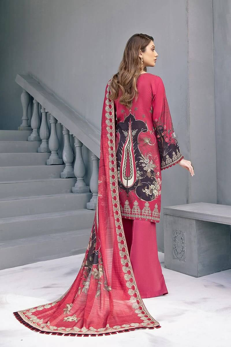 Riwayat linen Collection 2020 by Ramsha Designer Salwar Kameez R-101
