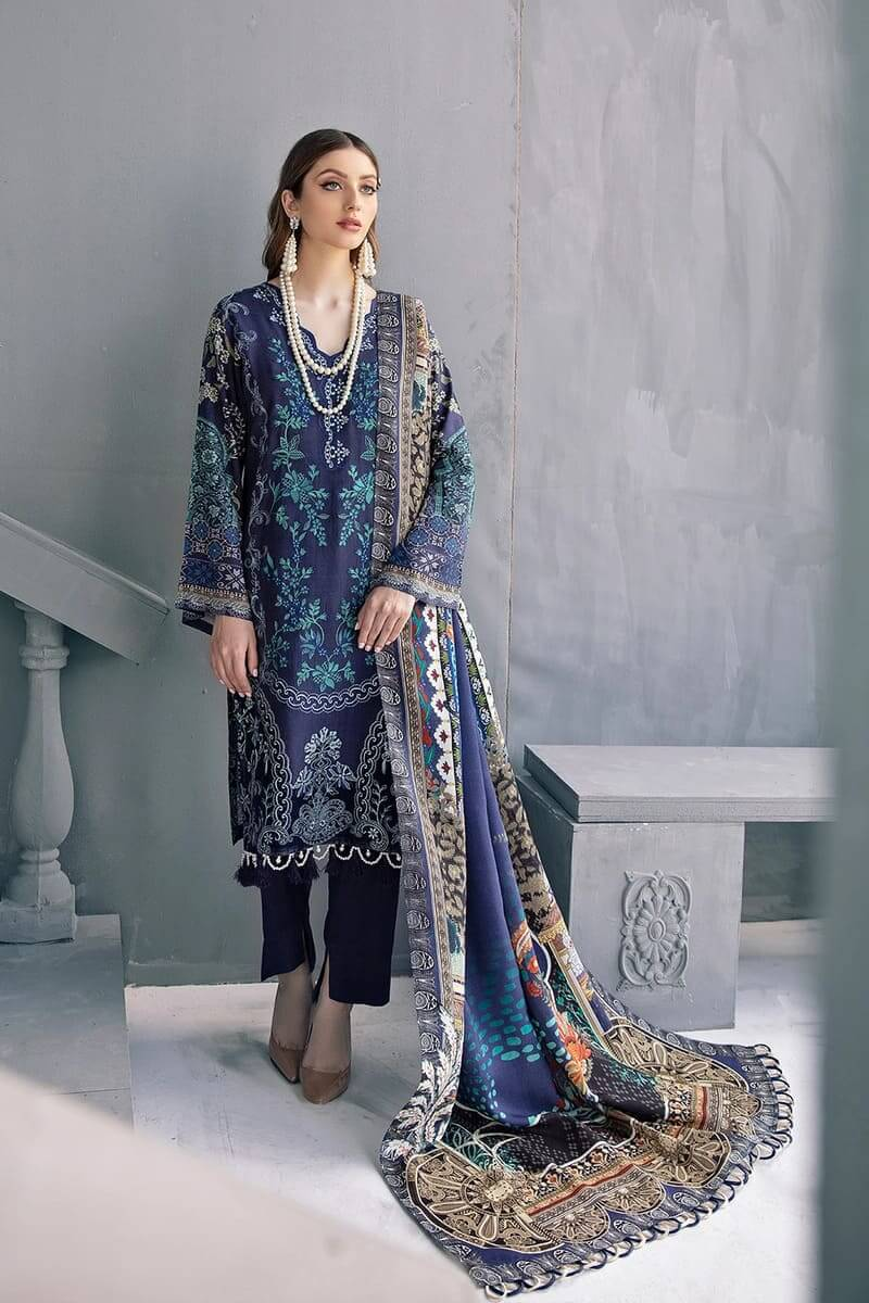 Riwayat linen Collection 2020 by Ramsha Designer Salwar Kameez R-102