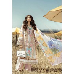 Rouche Luxury Signature Summer Lawn Collection 2020 Design 03