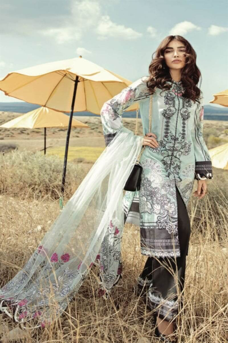 Rouche Luxury Signature Summer Lawn Collection 2020 Design 05