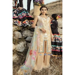 Rouche Luxury Signature Summer Lawn Collection 2020 Design 09