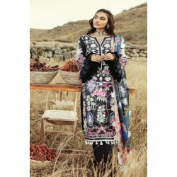 Rouche Luxury Signature Summer Lawn Collection 2020 Design 11