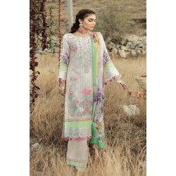 Rouche Luxury Signature Summer Lawn Collection 2020 Design 12