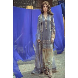 Roxanne Lawn Collection by Serene Premium Designer Pakistani Suits SL-04 Viola