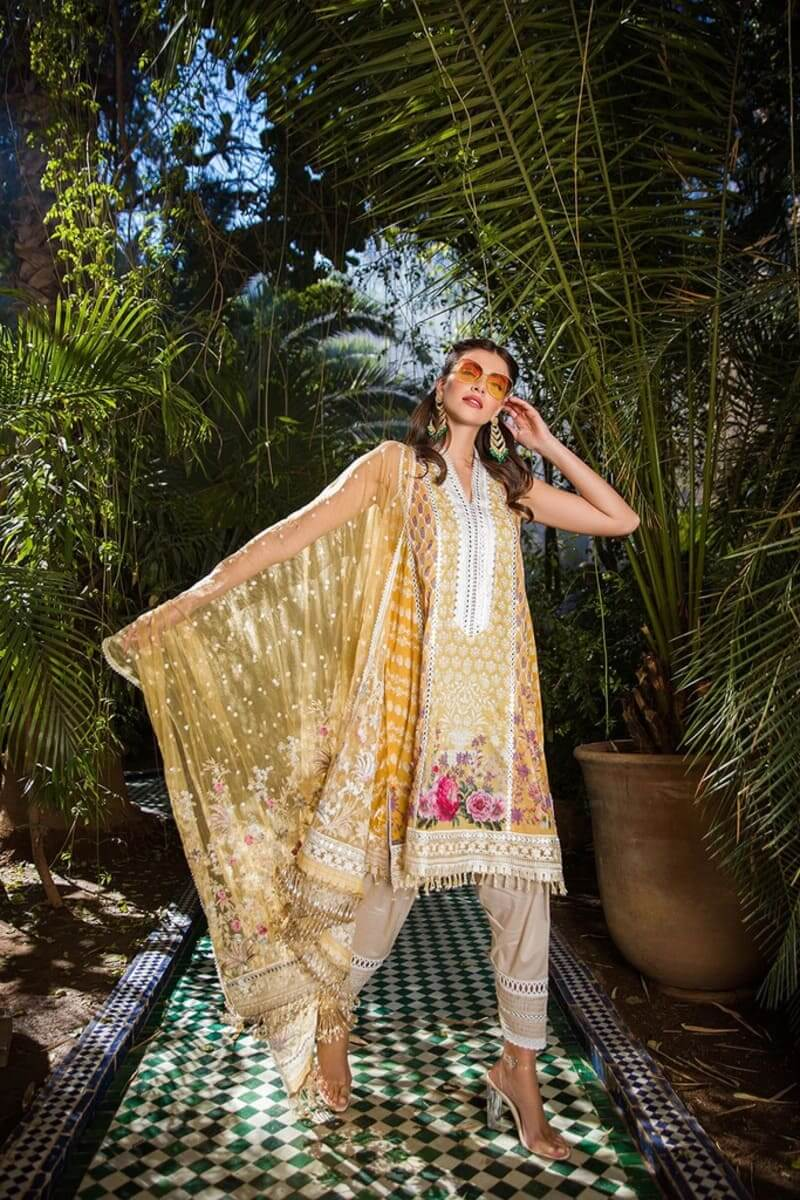 Sobia Nazir Luxury Lawn Collection 2020 Pakistani Suits Design 13A