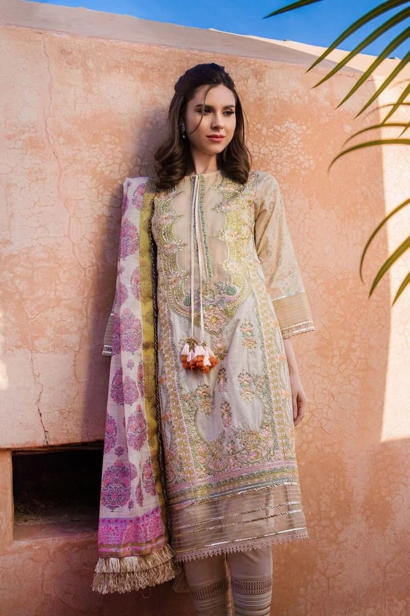 Sobia Nazir Luxury Lawn Collection 2020 Pakistani Suits Design 2B