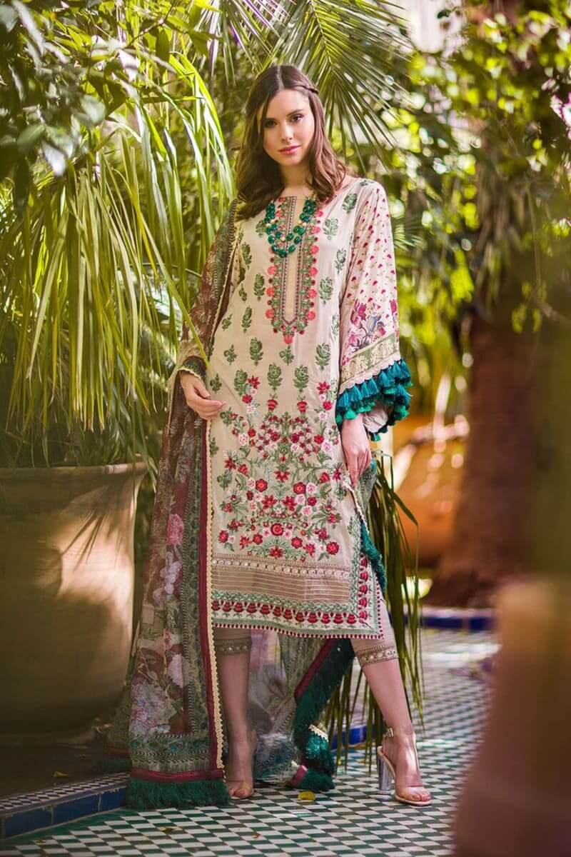 Sobia Nazir Luxury Lawn Collection 2020 Pakistani Suits Design 3B